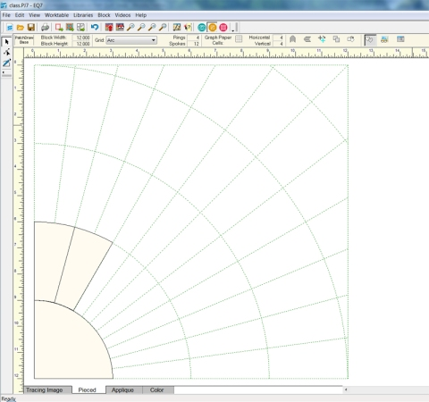 how to draw shapes on graph paper in word