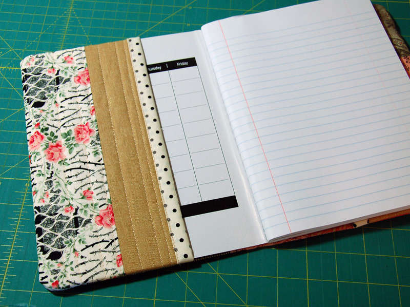 Book Cover Sewing Guide : Composition notebook covers bloomin workshop
