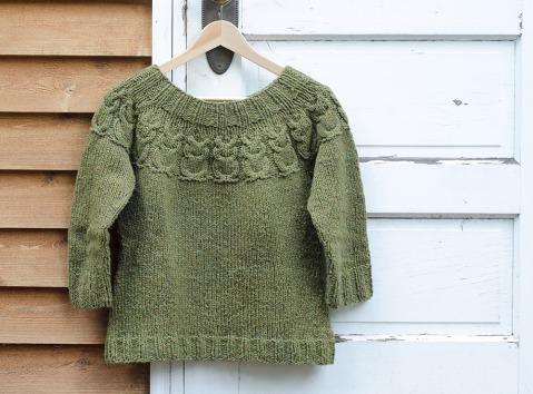 Owls-sweater